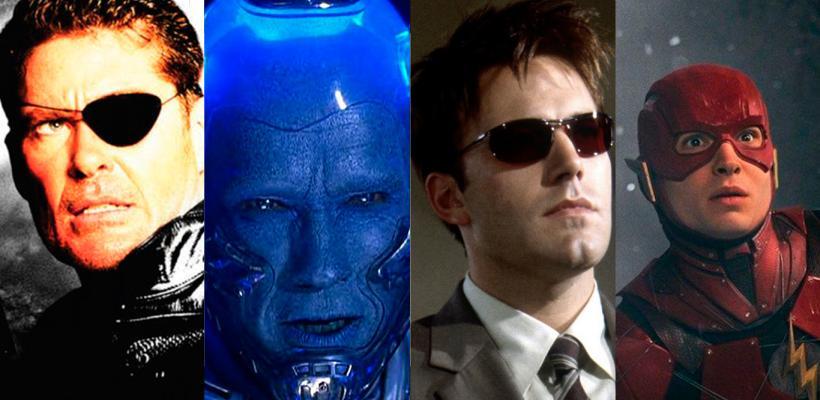 Los peores castings de películas de superhéroes