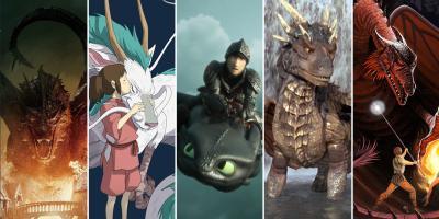 ¿Extrañas a Daenerys y sus hijos? Estas 12 películas de dragones llenarán ese vacío