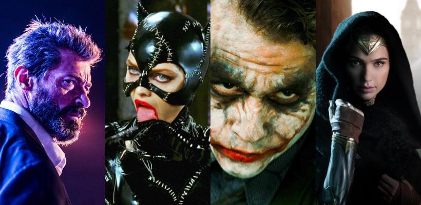 Las mejores actuaciones en películas de superhéroes