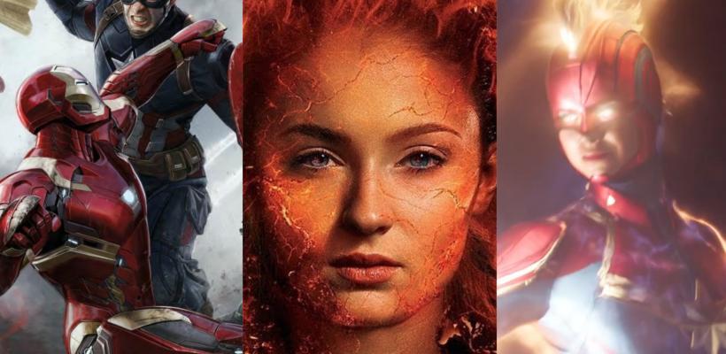 Director de Dark Phoenix la compara con Civil War y admite similitudes con Capitana Marvel