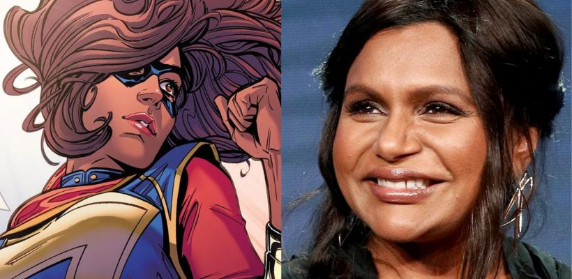 Mindy Kaling revela que Ms. Marvel llegará al MCU, ¿será la primera superheroína plus-size?