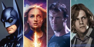 Personajes que han sido arruinados más de una vez en el cine