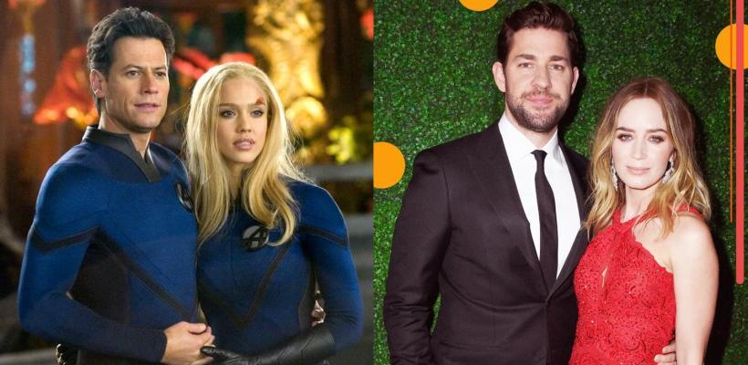 Emily Blunt y John Krasinski podrían interpretar a Sue Storm y Reed Richards en el MCU