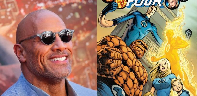 Dwayne Johnson quiere ser parte del reboot de Los Cuatro Fantásticos