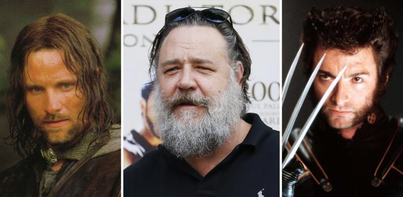 Russell Crowe rechazó ser Aragorn y Wolverine pero no se arrepiente