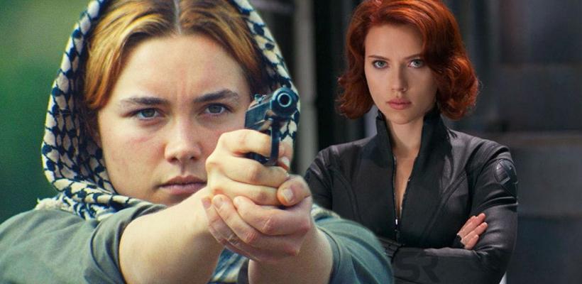 Black Widow: Nuevas fotos del set revelan al personaje de Florence Pugh
