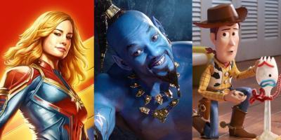 Taquilla de Disney ya duplica la de cualquier otro estudio en lo que va de 2019