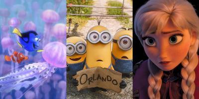 Las películas animadas más taquilleras de todos los tiempos
