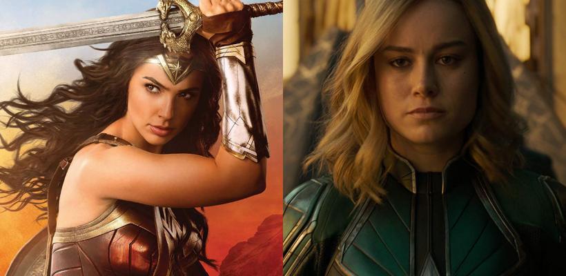 Mujer Maravilla vs Capitana Marvel: ¿qué personaje es más fuerte?