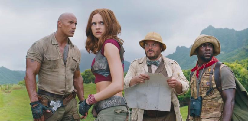Jumanji: The Next Level | Dwayne Johnson y Jack Black regresan en primer tráiler