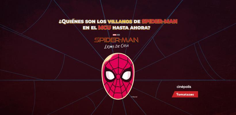 Spider-Man: Lejos de Casa | Infografía: Todos los villanos de Spider-Man en el MCU
