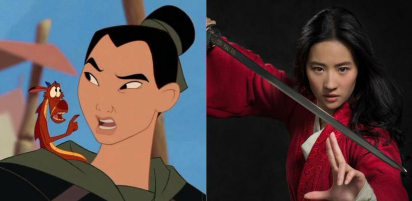 Diferencias del live-action de Mulan con la película animada