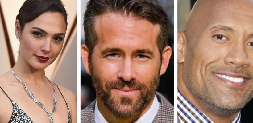 Red Notice: El thriller que reunirá a Ryan Reynolds, Gal Gadot y Dwayne Johnson