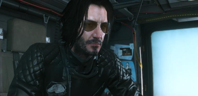 Ya puedes jugar Metal Gear Solid V: The Phantom Pain con Keanu Reeves como protagonista
