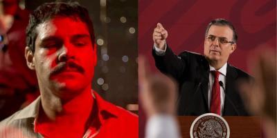 Marcelo Ebrard quiere prohibir series de narcos por manchar la imagen de México