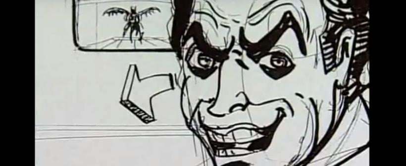 Batman | Secuencia de storyboard con Mark Hamill