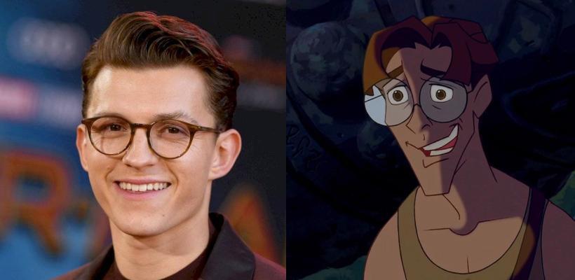 Rumor: Tom Holland podría ser Milo Thatch en el live-action de Atlantis: El Imperio Perdido