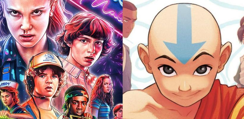 Estrellas de Stranger Things llaman a Avatar: The Last Airbender la mejor serie de la historia
