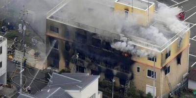 Atentado contra el estudio de anime Kyoto Animation en Japón deja más de veinte fallecidos