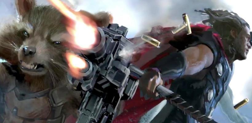 Comic-Con 2019: Se revela escena eliminada con Thor y Rocket Raccoon en Avengers: Endgame
