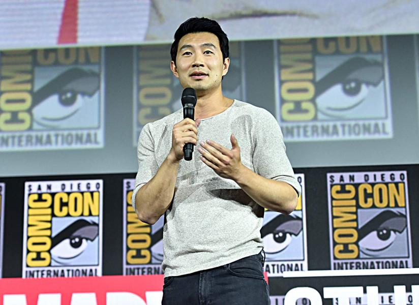 Shang-Chi and the Legend of the Ten Rings (2021). Simu Liu fotografiado por Alberto E. Rodriguez/ Imágenes para Disney - © 2019 Getty Images - Imagen cortesia de gettyimages.com