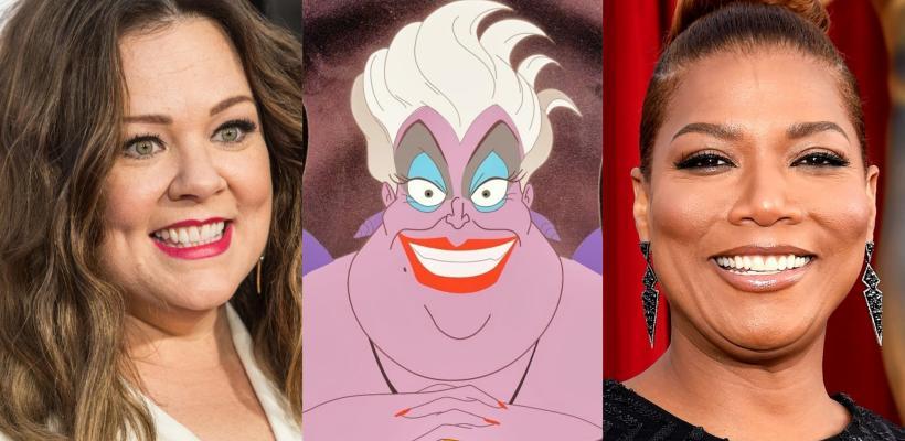 Melissa McCarthy felicita a Queen Latifah por obtener el papel de Úrsula en La Sirenita