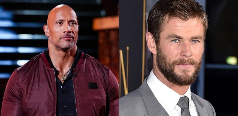 Dwayne Johnson y Chris Hemsworth lideran lista de los actores mejor pagados de Hollywood