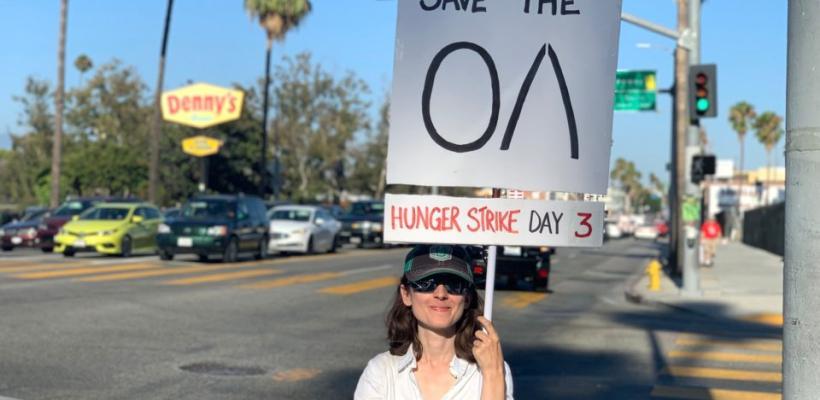 Fan de The OA protesta por la cancelación de la serie con una huelga de hambre