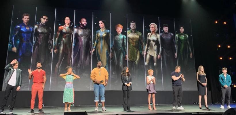 D23 2019 | Elenco de Eternals asegura poder destruir fácilmente a los Vengadores y Guardianes de la Galaxia