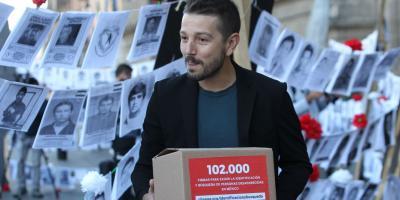 Diego Luna acude a Palacio Nacional para exigir seguridad y lo acusan de incongruente en Twitter