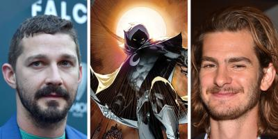 Moon Knight: Shia Labeouf y Andrew Garfield podrían estar compitiendo por el papel principal