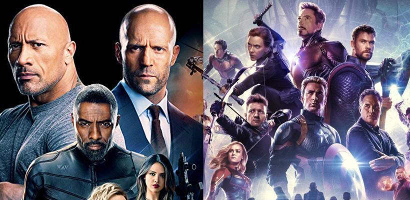 Rápidos y Furiosos: Hobbs & Shaw supera récord de Avengers: Endgame y Dwayne Johnson lo celebra