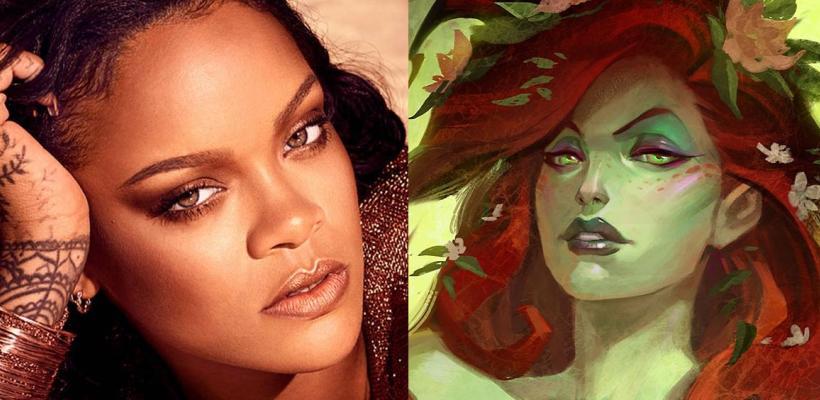 Rihanna podría interpretar a Poison Ivy en el DCEU