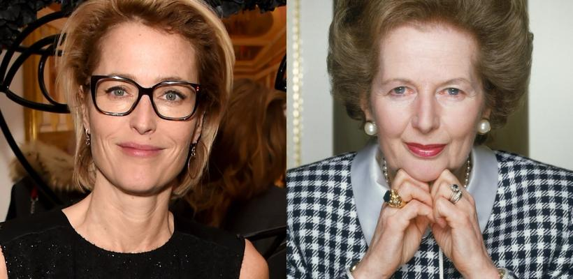 Gillian Anderson se une a la cuarta temporada de The Crown como Margaret Thatcher