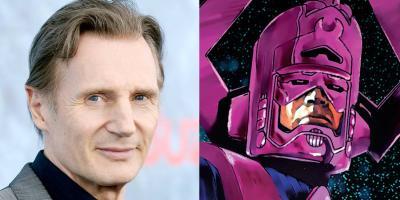 Liam Neeson podría ser Galactus en el Universo Cinematográfico de Marvel