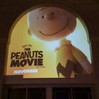 Logo de Snoopy y Charlie Brown: Peanuts, La Película. (Foto de Steven Weintraub - Collider.com)
