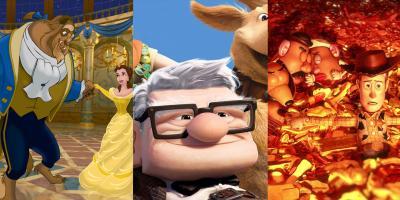 Películas animadas que han sido nominadas al Óscar a Mejor Película