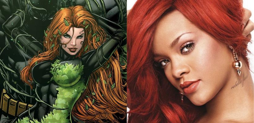 The Batman: Rihanna dice estar dispuesta a ser Poison Ivy