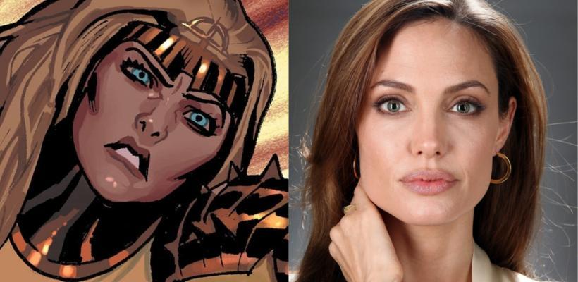 Eternals: se filtran primeras fotos de Angelina Jolie como Thena