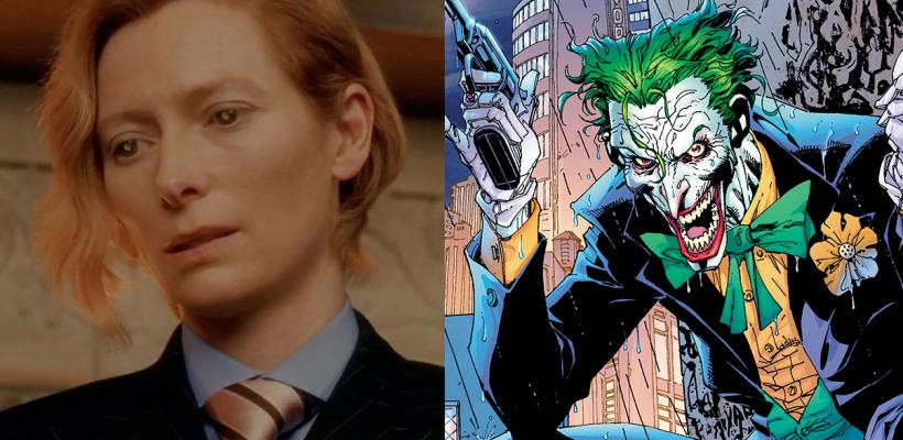 Proponen a Tilda Swinton como el Joker de Matt Reeves en The Batman