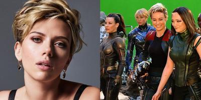 Scarlett Johansson impulsará película de Marvel Studios protagonizada solo por superheroínas