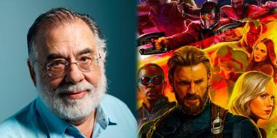 "Francis Ford Coppola se une a Martin Scorsese y llama ""despreciable"" a Marvel"