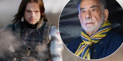 Sebastian Stan defiende las películas de Marvel ante los comentarios de Francis Ford Coppola