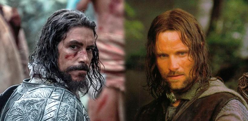 La serie Hernán, con Óscar Jaenada, utiliza una espada original de El Señor de los Anillos