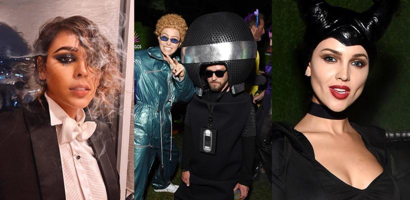Halloween 2019: los mejores disfraces de los famosos