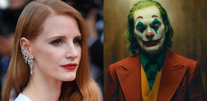 Joker: Jessica Chastain alaba a Joaquin Phoenix y dice que es la mejor actuación que ha visto