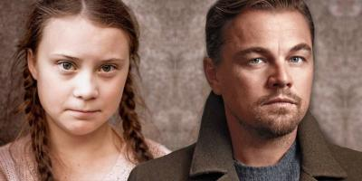 """Leonardo DiCaprio nombra a Greta Thunberg como """"la líder de nuestro tiempo"""""""