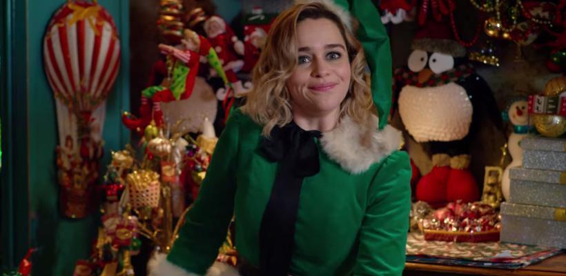 Emilia Clarke se molesta con los que intentan arruinar el giro en la trama de Last Christmas