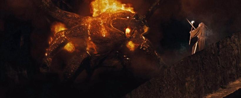 La Comunidad del Anillo - Clip Gandalf vs. Balrog
