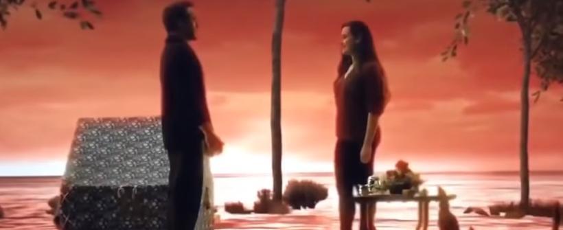 Morgan y Tony Stark | Escena eliminada de Avengers: Endgame